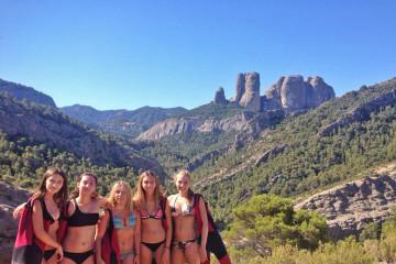 1.Bikinis in the mountains